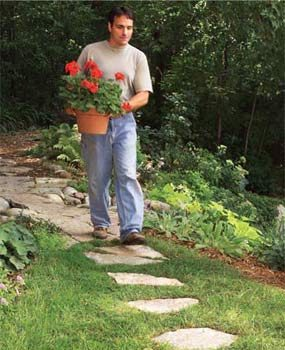 Affordable garden path ideas family handyman affordable garden path ideas workwithnaturefo