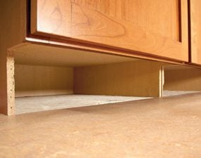 how to build under-cabinet drawers & increase kitchen storage