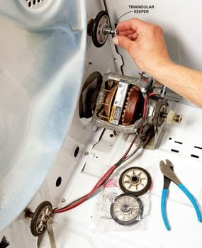 Whirlpool dryer repair