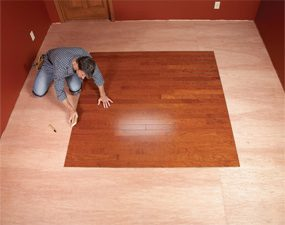 DIY Hardwood Floors: Lay a Contrasting Border