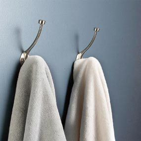 Stylish towel hooks