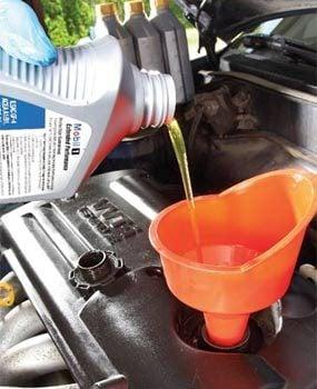 Photo 3: Add fresh oil