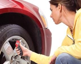 Check tire pressure every month