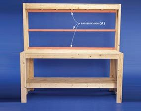 how to build a diy wood workbench super simple 50 bench - Workbench Design Ideas