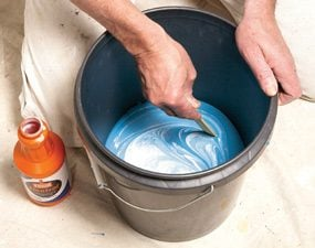 Paint extenders slow drying and help prevent lap marks.