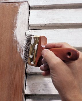 Always prime exterior wood with a high-quality primer.