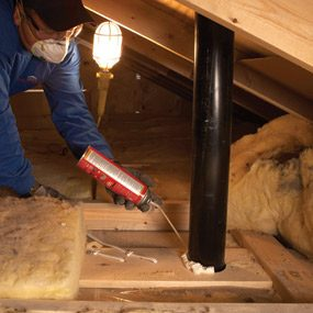 Saving Energy Blown In Insulation In The Attic The