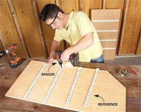 Photo 2: Preinstall drawer slides