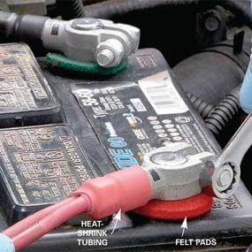 How To Replace Battery Terminals Fix A Corroded Battery Terminal