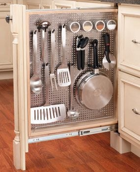 Narrow Pull Out Pantry Shelves
