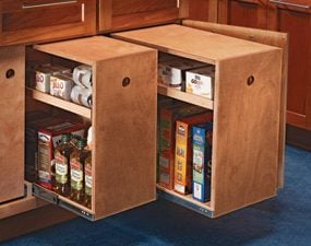 Pantry rollouts