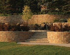 Large retaining walls