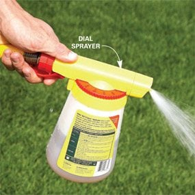 Photo 10: Use your hose for large areas