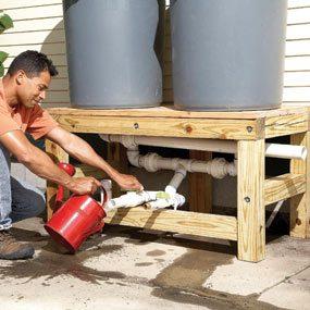 Install valves