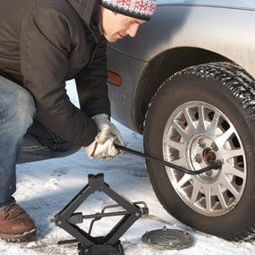 Tip for tire changes