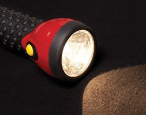 Every home emergency preparedness kit should include a working flashlight.