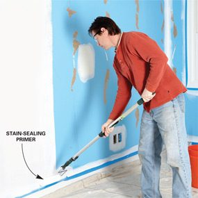 How To Skim Coat Walls The Family Handyman