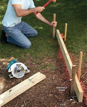 Photo 3: Dig postholes