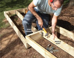 Photo 8: Add center joists
