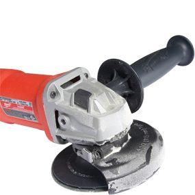 Close-up of disc grinder