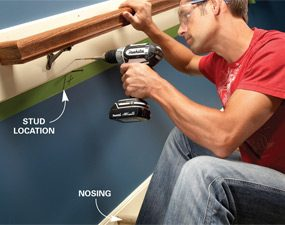 How to Fix Loose Stair Handrails