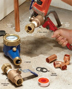 Water Pipe Replacement: Cures for Low Water Pressure
