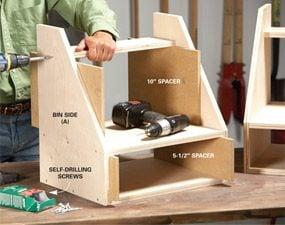 Photo 1: Build the bins