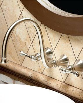 Kohler Revival wall-mount lav faucet