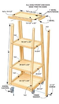Clamp rack illustration