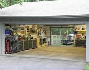 Drive Through Garage