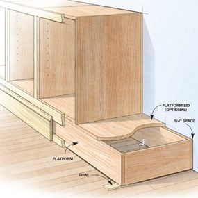 Shortcuts For Custom Built In Cabinets The Family Handyman