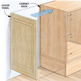 how to fix sagging resin shelves