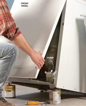 How to Drain a Washing Machine That Won't Drain