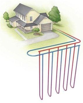 Vertical tube system