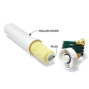 This cleaner saves high quality rollers for frequent reuse.