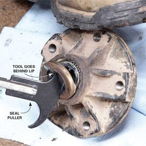 How to Repack Wheel Bearings