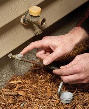 Outdoor Faucet Repair: Fix a Noisy Faucet