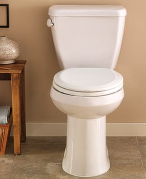 A taller toilet