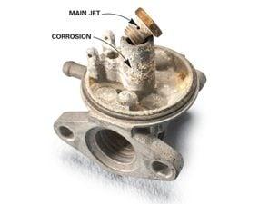Photo 3: Corrosion's a deal breaker