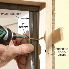 Hide the screws