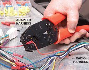 Photo 2: Splice the harness