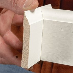How to Cope Baseboard Trim with a Miter Saw