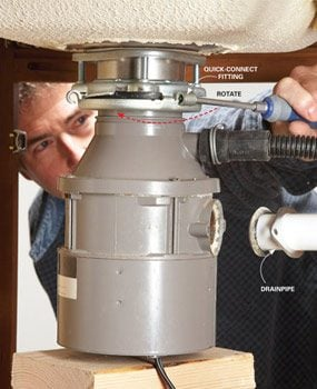 How to Replace a Garbage Disposer Splash Guard | The ...