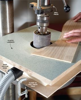 Building a Drum Sander Table