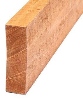 Rough-sawn wood