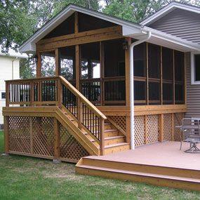 Three-season porch