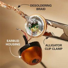 Photo 1: Desolder first