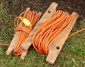 Organize extension cords