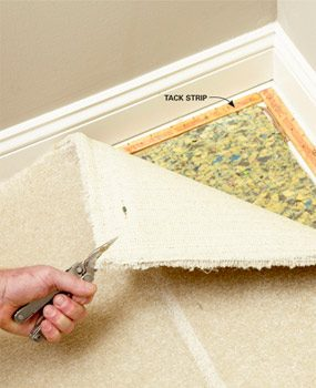 How To Repair Carpet Removing Wrinkles The Family Handyman