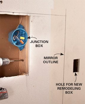 Photo 3: Reroute electrical lines